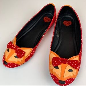 Tuk Fox Clever So Sweet slip on loafers shoes